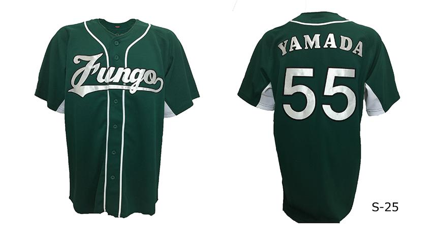 野球ユニフォームの定番スタイル 「刺繍タイプ」のご紹介