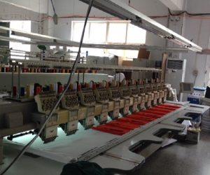 オーダー野球ユニフォーム 刺繍タイプ 工場画像2
