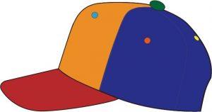 ベースボールキャップ デザイン例