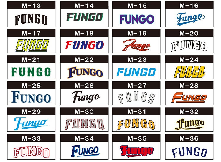 野球チームロゴ参考画像集
