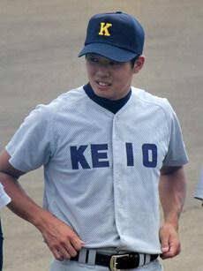 オーダー野球ユニフォーム参考画像 慶應