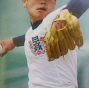 オーダー野球ユニフォーム参考画像 胸マークワンポイント2