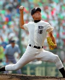 オーダー野球ユニフォーム参考画像 駒澤