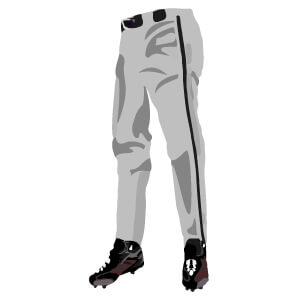 オーダー野球ユニフォーム パンツ ロングスタイル