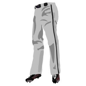 オーダー野球ユニフォーム パンツ フレアスタイル