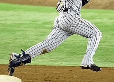 オーダー野球ユニフォーム パンツ ストレートスタイル画像
