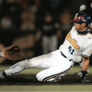 野球ユニフォーム パンツ ショートスタイル参考画像イチロー選手2