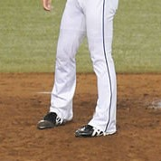 オーダー野球ユニフォーム パンツ フレアスタイル画像