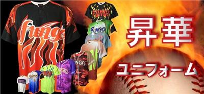 オーダー野球ユニフォーム 昇華タイプ参考画像2