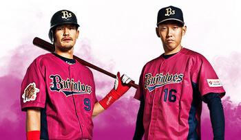 野球ユニフォーム製作 オリックスバファローズ2