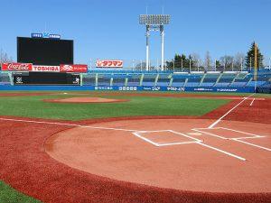 野球の雑学 スタジアム画像