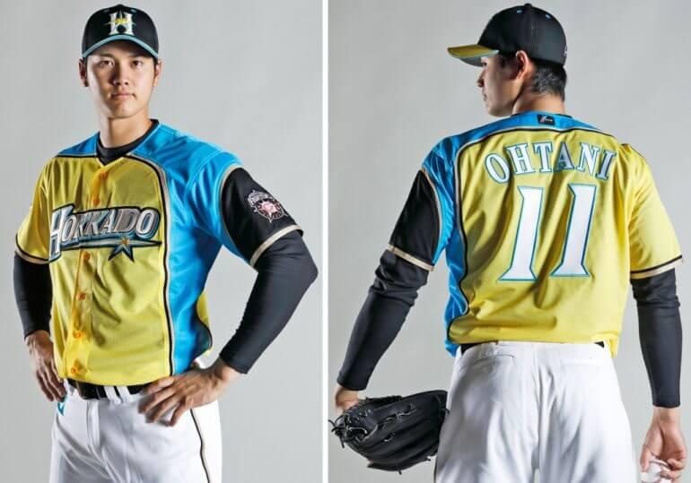 野球ユニフォーム製作 日本ハムファイターズ1
