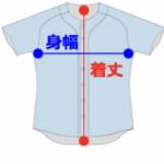 野球ユニフィーム特別仕様(カスタマイズ)画像